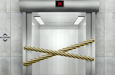 Основные поломки лифта